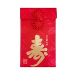 FABRIC RED PACKET- 寿