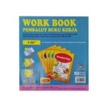 Flamingo Work Book Cover PVC 10's H260mm