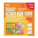 DOLPHIN READY MADE ACTIVITY BOOK COVER 10'S (EMBOSS)
