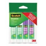 3M SCOTCH GLUESTICK 7GM 4'S PKT (2W2P)