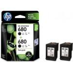 HP 680 TWIN VALUE PACK (BLACK) X4E79AA