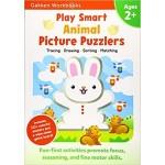 GAKKEN WORKBOOK:PS ANIMAL PICTURE PUZZLERS 2+