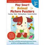 GAKKEN WORKBOOK:PS ANIMAL PICTURE PUZZLERS 3+