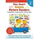 GAKKEN WORKBOOK:PS VEHICLE PICTURE PUZZLERS 3+