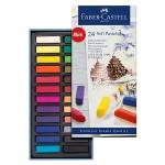 Faber-Castell Creative Studio Soft Pastel Half Length - 24 Colours