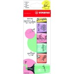 STABILO BOSS LIMITED MINI PASTELLOVE EDITION HIGHLIGHTER - WALLET OF 6'S