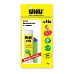 UHU GLUE STIC VALUE PACK 21g WITH 1 ERASER 91-000-065