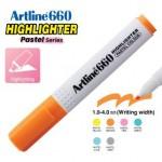 ARTLINE EK-660 PASTEL HIGHLIGHTER 1-4MM PASTEL ORANGE