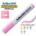 ARTLINE EK-660 PASTEL HIGHLIGHTER 1-4MM PASTEL PINK