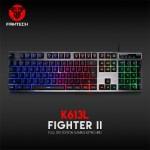 FANTECH K613L ALUMINUM ALLOY BACKLIT MEMBRANE GAMING KEYBOARD