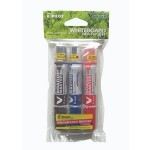 Pilot V Board Master Whiteboard Marker Set of 3 Fine (Black,Blue,Red) with PVC Pouch
