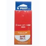 Pilot BP-1RT Ball Pen Fine Red in Dozen Pack (12 pieces)