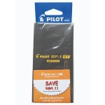Pilot BP-1RT Ball Pen Medium Black in Dozen Pack (12 pieces)