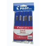 Pilot BP-1 Ball Pen Medium Blue Pack of 12 pieces