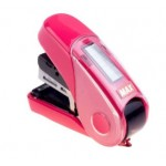 MAX HD-10FL3K FLAT-CLINCH STAPLER PINK