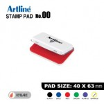 ARTLINE STAMP PAD NO.00 EHJ-1 EHJU-1 40x63mm RED