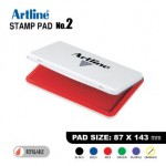 ARTLINE STAMP PAD NO.2 EHJ-4 EHJU-4 87X143mm RED