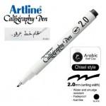 ARTLINE CALLIGRAPHY PEN EK-242N/AB 2.0MM CHISEL NIB BLACK