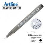 ARTLINE EK233 DRAWING SYSTEM 0.3MM BLACK