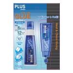 PLUS JAPAN GLUE TAPE NORINO APPLICATOR + REFILL 8.4MM X 6M BLUE TG-728N-11