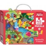 HINKLER CHILDREN JIGSAW PUZZLE BUTTERFLY FRIENDS 45PCS