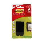 3M COMMAND BLACK MEDIUM PICTURE HANGING STRIPS 4 SETS/PACK