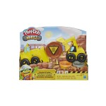 PLAY-DOH WHEELS EXCAVATOR AND LOADER  CONSTRUCTION TRUCKS SET