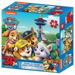 C-PAW PATROL SUPER 3D JUNIOR 48PC  PUZZL