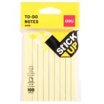 DELI STICKY TO-DO NOTES 3IN.X4IN. 100'S/PAD EA00652