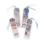 GLITTER BOOKMARK- CAT TR-BB01069 (ASSORTED DESIGNS)