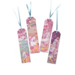 GLITTER BOOKMARK- SAKURA UNICORN TR-BB01071 (ASSORTED DESIGNS)