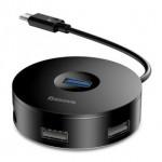 BASEUS CAHUB-F01 USB3 TO USB3+3USB HUB 25CM BLACK