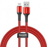 BASEUS CALGH-A09 LIGHTNING CABLE 2.4A 50CM RED
