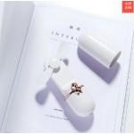 USB RECHARGEABLE HANDY FAN 2 SPEED WHITE LJQ-114