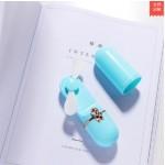 USB RECHARGEABLE HANDY FAN 2 SPEED GREEN LJQ-114