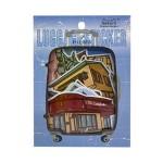 LUGGAGE DECO STICKER- BUILDING