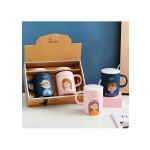 SWEET COUPLE CERAMIC MUG SET 400ML