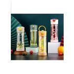 GLASS WATER BOTTLE 230ML