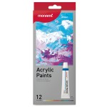 MONAMI ACRYLIC PAINTS 12ML - 12 COLOURS