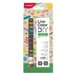 MONAMI Live Color DIY Play Kit – 12 Colors + 3 Connectors