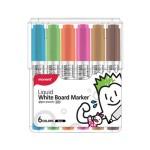 MONAMI SigmaFlo Liquid Board Marker 6 colours SET-B