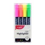 MONAMI SUPER ADDING 601 Highlighter 4 Neon colours