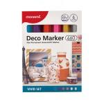 MONAMI 460 Deco Marker Set - Vivid
