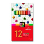 COLLEEN 775N COLOURED PENCILS - 12 NEON COLOURS