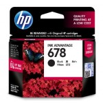 HP 678 BLACK INK CARTRIDGE (CZ107AA)