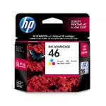 HP 46 COLOR INK CARTRIDGE (CZ638AA)