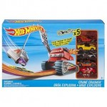 HOT WHEELS CITY CRANE CRASHER TRACK SET