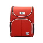 POP KIDS SCHOOL BAG - SCHOOLMATE CHILI RED