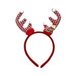 CHRISTMAS HEADBAND- ANTLERS