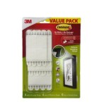 3M COMMAND PICTURE HANGING STRIP VALUE PACK 17036VP